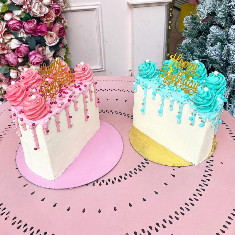 חצי עוגה לחצי יום הולדת :)