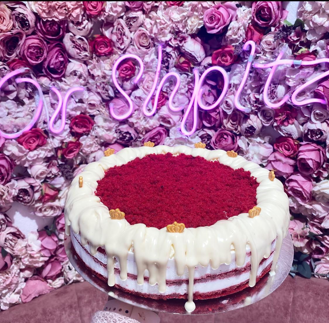 עוגת שכבות רד וולוט