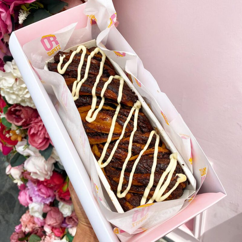 עוגת קראנץ שמרים